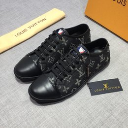 Old Man Dress Australia - Italion Designer luxury shoe classic old flower casual shoes with top quality sneakers running shoes for men