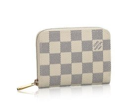 Framed coin purse online shopping - Coin Zippy Purse N63069 New Women Fashion Shows Exotic Leather Bags Iconic Bags Clutches Evening Chain Wallets Purse