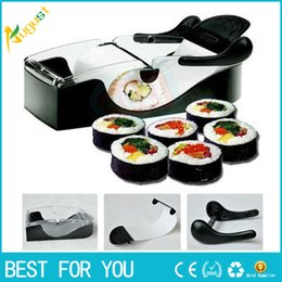 $enCountryForm.capitalKeyWord Canada - 100pcs lot 2015 New DIY easy roller machine roll sushi maker perfect kitchen cooking tools Sushi roller rice mold black