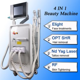 faster tattoo Canada - Fast hair removal ipl shr opt nd yag laser tattoo removal rf machine for skin 2500W Higher Power Professional Machine
