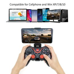 bluetooth remote for android tablet Australia - Wireless Joystick Bluetooth 2.0 Gamepad Gaming Controller For PS3 Remote Control for Tablet PC Android Smartphone With Holder