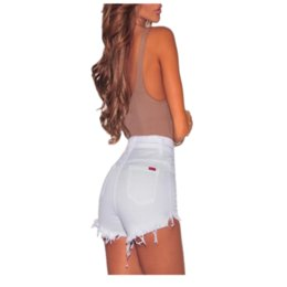 $enCountryForm.capitalKeyWord Australia - Women casual shorts Jeans Denim Shorts Hot Pants Hole Destroyed Ripped High Waist short d90603