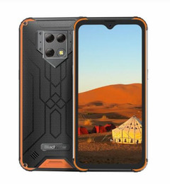 "rugged android smartphone Australia - Blackview BV9800 6GB 128GB IP68 Rugged Smartphone 6.3"" FHD+ Waterdrop Helio P70 Octa Core Android 9.0 NFC Mobile Phone 6580mAh"