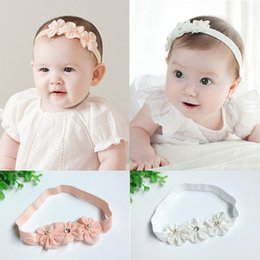 Discount crystal flowers photography - Baby Girl Accessories Princess Crystal Diamond Headbands Flowers Elastic Hairband for Birthday Party Gift and Photograph