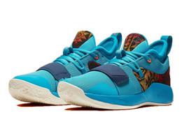 Glitter Store NZ - Hot PG 2.5 Pendleton shoes for sale free shipping new Paul George Basketball shoes store With Box US7-US12