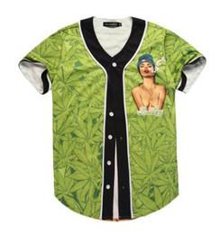 a35d3bcb 3D Cartoon T-shirt Men Hip Hop Short Sleeve 3D Printed Baseball Jersey Tee  Shirt Street Wear Summer Tops
