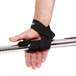 $enCountryForm.capitalKeyWord UK - Wristband Lifting Body Building Grip Sports Wrist Band Weight Lifting Hand Wrist belt Support Strap Brace band Gym Straps 1Pair