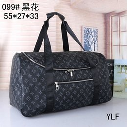 satin travel bag Australia - 2019 new fashion men women travel bag duffle bag, brand desil uggage handbags large capacity sport bag 55X26X34CM 88658