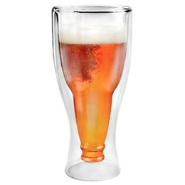 $enCountryForm.capitalKeyWord Australia - Beer Glass Creative Bar Party Drink Cup Glass Beer Wine Drinking Cups Tea Mug Party Supply Double Wall Glass