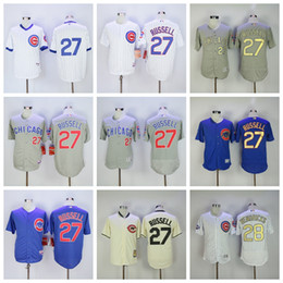 9197caad7 Chicago 24 Cubs Dexter Fowler Jersey Addison 27 Russell Kyle 28 Hendricks  Baseball jerseys Stitched