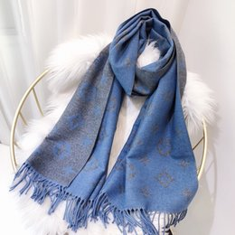 blanket scarf size NZ - new Women Designered Scarf Cashmere Branded Ladies Scarf Shawl Women Fashion Scarves Blanket Size 180x70cm Both Size 2020374K