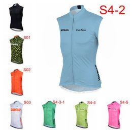 $enCountryForm.capitalKeyWord Australia - STRAVA team Cycling Sleeveless jersey Vest trend hot sale Quick drying Comfortable popular zipper men Outdoor T-shirt X62615