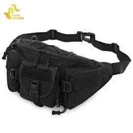Molle Bags Packs Australia - Free Knight 3 - 5L Runing Bag Tactical Molle Bags Waterproof Waist Pack Hiking Fishing Hunting Waist Bags Camping Sport Bag #665164