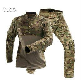 China New frog clothing suit cotton wear long-sleeved combat uniforms special forces army fan clothing frog suit supplier combat suit army suppliers
