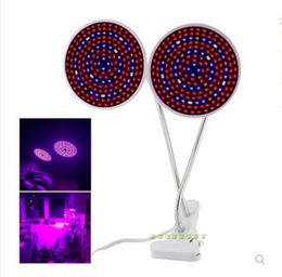 $enCountryForm.capitalKeyWord Australia - Dual 28 200 290 LED Plant Grow Light Full Spectrum Flower Growing Lamp holder Clip For Indoor room Seeding Hydroponic Greenhouse