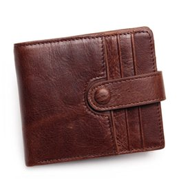 Wholesale Men Wallets Genuine Leather Wallet For Credit Card Holder Zip Small Wallet Man Leather Wallet Short Slim Card Case
