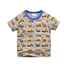Sweet candy girl online shopping - Sweet Kids Boys Girls Cartoon Fashion Tees Tops Multi Candy Color Summer Cotton Cars Print Tops Tees