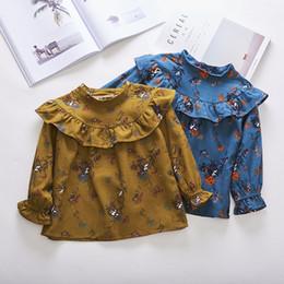 $enCountryForm.capitalKeyWord Australia - 2019 New Autumn Item Girl Fashion Flower Shirt Two Colors Tights boy blank baby good 3D 3 d geometric cute t-shirt boys t shirts