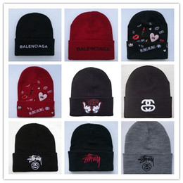 Cowboy Hair Australia - New Design Blingbling Beaines Breaking hair Bad Hair Day wool hats hiphop hats Korean knitted men and women