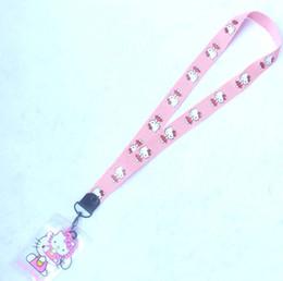$enCountryForm.capitalKeyWord Australia - New style Hello Kitty Lanyard with Reel and ID Card Holder : Red Ribbon Kitty