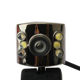 Usb light dimmer online shopping - 30 Mega Pixel USB Camera Webcam Led Light Dimmer M HD Web Cam With Mic Microphone for PC Computer Laptop Desktop Hot