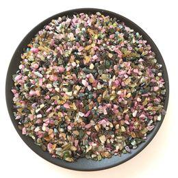 $enCountryForm.capitalKeyWord Australia - 50g Natural Crystal Healing Reiki Tourmaline Crushed Stone Beads Gemstone Chip Tumbled Stone Fountain Home Garden Mineral Decor