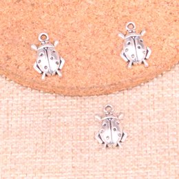 jewelry beetles Australia - 143pcs Charms beetle bug 17*11mm Antique Making pendant fit,Vintage Tibetan Silver,DIY Handmade Jewelry