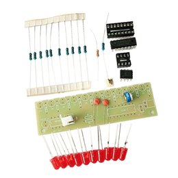 water module UK - NE555+CD4017 Flashing Light, Water Flowing LED Light Module, PCB Board, Water Flowing Lamp Suite DIY Kit