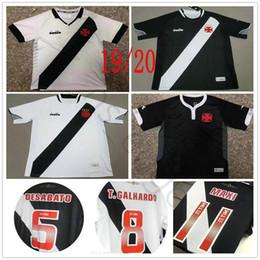 18b6d20368c69 2019 2020 Vasco da Gama Soccer Jerseys Muriq Fabiano MAXI Y.PIKACHU A.RIOS  PAULINHO Custom Home White Black 19 20 Football Shirt