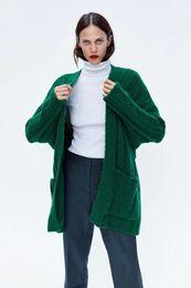 $enCountryForm.capitalKeyWord NZ - Women Popular Pop D821U2 Autumn Pop Products In Europe And The Loose Big Pocket Knit Cardigan # 1061
