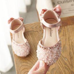 $enCountryForm.capitalKeyWord Australia - 2019 summer new Korean girls sandals princess shoes diamond baby shoes show girls list sandals for kids