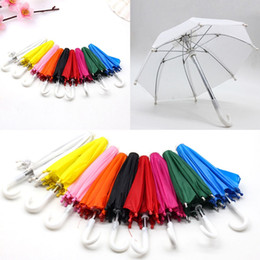 24 inches dolls NZ - New Style Mini Umbrella Rain Gear For 18 Inch American baby Doll Life Journey Dolls Accessory Birthday Gift For Children