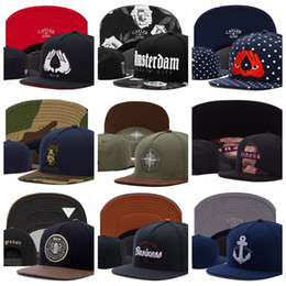 Anchor cAp online shopping - Cayler Sons camo Snapback Hats ALL IN BLAZIN CITY LEGEND FAMOUS BRIGHT MINDS Business NO NEW FRIENDS anchor Baseball Caps Casquette Gorras