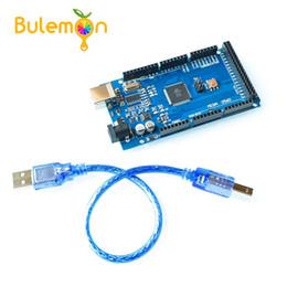 MEGA2560 MEGA 2560 R3 (ATmega2560-16AU CH340G) AVR USB kurulu Geliştirme kurulu MEGA2560 arduino için Kablo ile