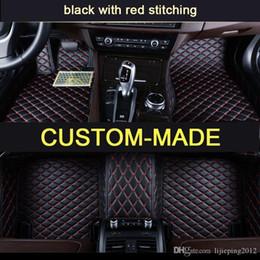 Make Custom Cars NZ - Veeleo Custom-Made 6 Colors Leather Auto Floor Mats for BMW Audi All Searies 6 7 Seats Waterproof Anti-slip Car Mats 3D Carpets