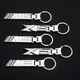 $enCountryForm.capitalKeyWord Australia - 3D Metal Alloy bmw M3 M5 Key Rings Keychain Emblem Key Chain Car logo For BMW M3 M5 M6 X6 E36 E38 E39 E46 E60