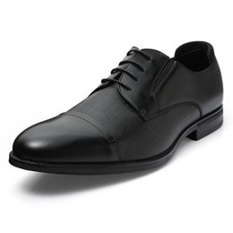 Discount dress shoes size 13 men ZUSIGEL NEW Casual Dress Shoes Men Pig Split Formal Men Shoes Lace-up Pointed Toe Office US Size 8-13