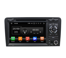 "Audi Car Mp3 Australia - 4GB RAM 64GB ROM Octa Core 2 din 7"" Android 8.0 Car DVD Player for Audi A3 S3 RS3 2003-2011 RadioGPS 4G WIFI Bluetooth USB Mirror link"