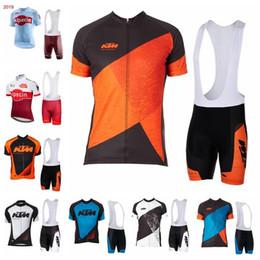 $enCountryForm.capitalKeyWord Australia - 2019 Katusha Ktm Cycling Jersey Sets Road Racing Bike Jersey Breathable Cycling Short Sleeves Shirt Bib Shorts Men Cycling Clothing K040704