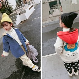 Discount clothes trading - Foreign trade children's wear boys' and girls' coats cartoon mink down and wool overcoats winter clothing