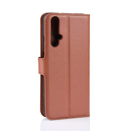 Leather Smart Phone Wallet UK - lychee wallet leather phone Cases case For Huawei p smart Z plus Y9 Y7 Y6 Y5 2019 honor 20 10i 20i pro
