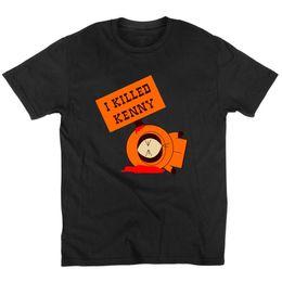 South Park Shirts Australia - 2019 Womens luxury designer t shirts t shirts fashion I Killed Kenny South Park Printed t shirt Cotton short sleeved t-shirt Summer tshirt