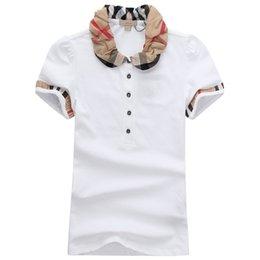 Ingrosso T-shirt da donna di design di alta qualità T-shirt di marca da uomo di design tondo Modelli Camicie di polo da donna all'ingrosso