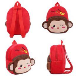 $enCountryForm.capitalKeyWord Canada - Kid Boy Girl Children Baby Animal Cartoon Bags Backpack Zoo School Lunch Bag Rucksack