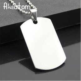 $enCountryForm.capitalKeyWord Australia - 2019 New unique Designer Mens Military Army Style 316L Stainless Steel Dog Tags Chain Mens Pendant Necklace Jewelry Accessories