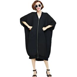 $enCountryForm.capitalKeyWord Australia - Plus Size Women Fashion Zip Long Beach Blouse Shirt Lady Sun Protection Top Tees Female Oversized Shirts Kimono Cardigan