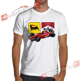 Vente en gros T-shirt Vintage F641 F1 Nigel Mansell Vintage de Formule 1