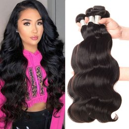 AffordAble hAir online shopping - 100g Malaysian Hair Bundles Body Wave Can Be Dyed Unprocessed Virgin Human Hair Bundles Body Wave Hair Weft Extensions Affordable