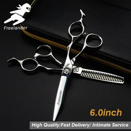 Haircuts scissors online shopping - 6 quot Sale Silver Japanese Hair Scissors Japan C Cheap Hairdressing Scissors Thinning Shears Hairdresser Shaver Haircut