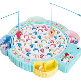 $enCountryForm.capitalKeyWord NZ - Children's electric magnetic fishing pool set toys baby puzzle men and women children 1-3-6 years old